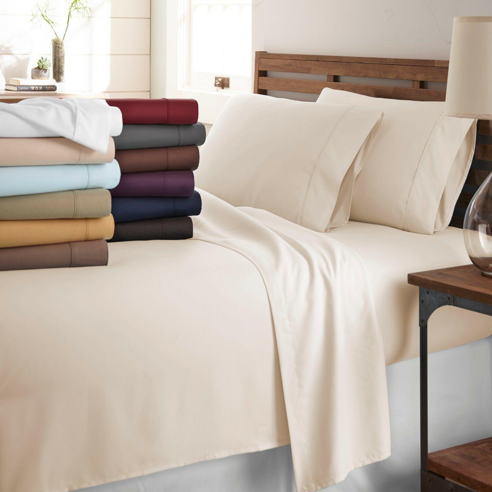 1800 series hotel quality bed sheets hypoallergenic