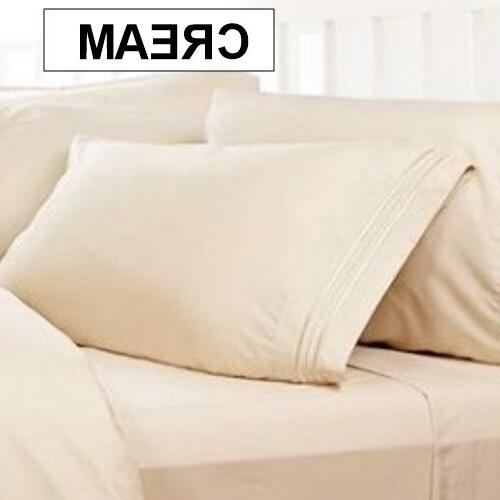 1800 Thread Bed Sheet Sets: Buttery Cool Wrinkle Free. Many