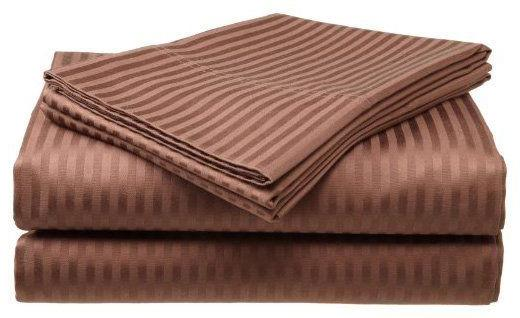 2 PACK:Deluxe 400 Cotton Sateen Sheet Dobby