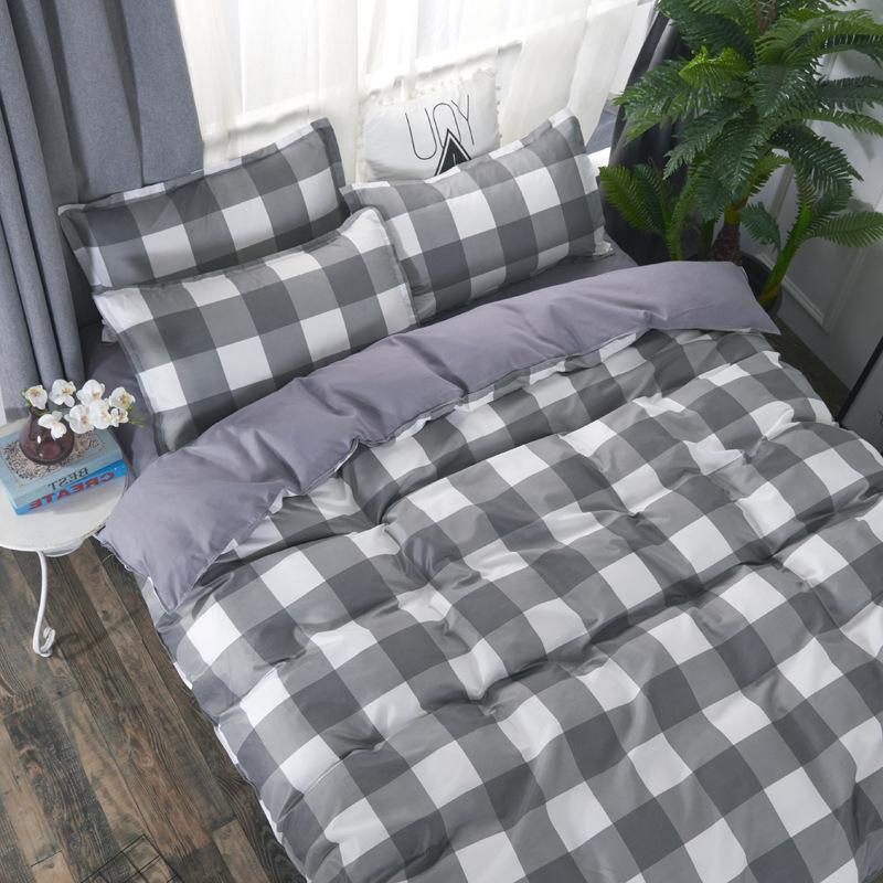 2019 <font><b>reversible</b></font> bedding duvet <font><b>bed</b></font> set <font><b>sheet</b></font> high quality printing No quilt