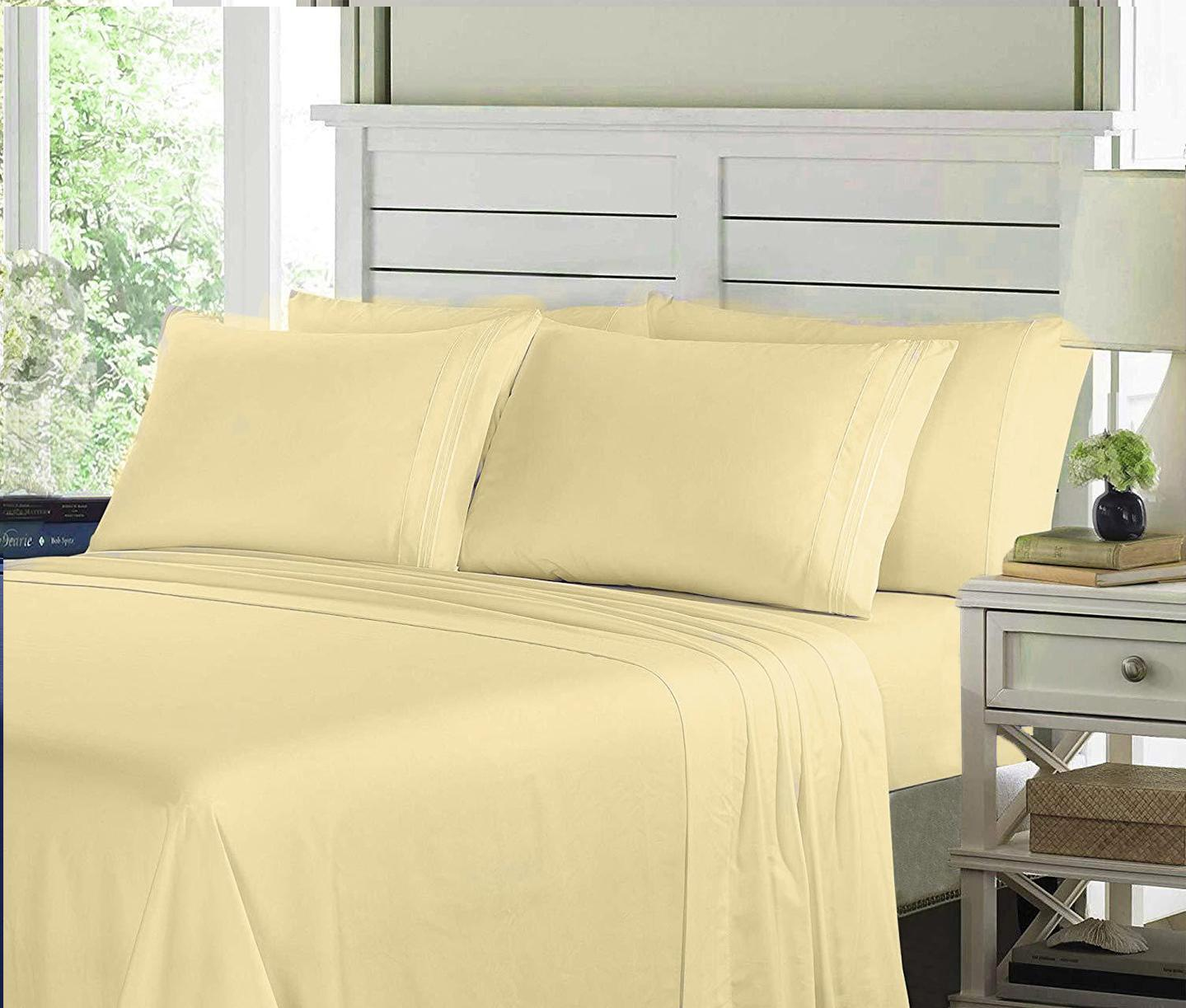 Egyptian Comfort Bed Sheets Brushed Luxury