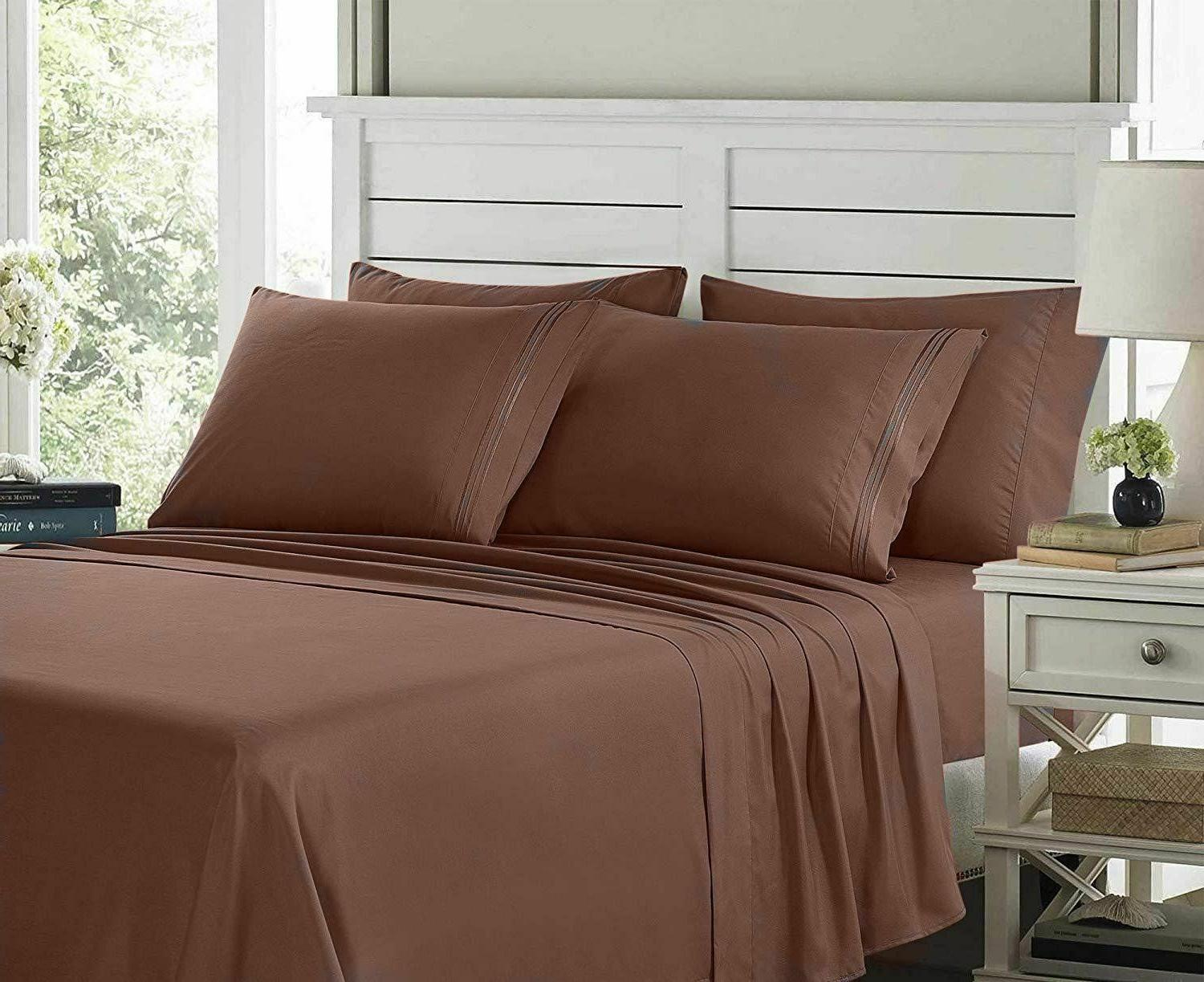 Egyptian Hotel 6 Piece Deep Soft Sheet Set