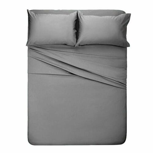 Soft Bed 3/4 Piece Bedding Queen Full Twin Size