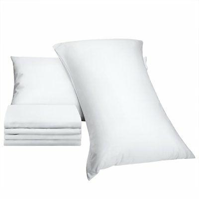 6 pack zippered pillow protector 100 percent