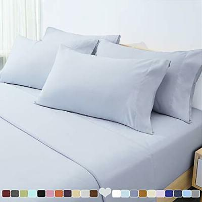 6 piece bed sheets set extra soft