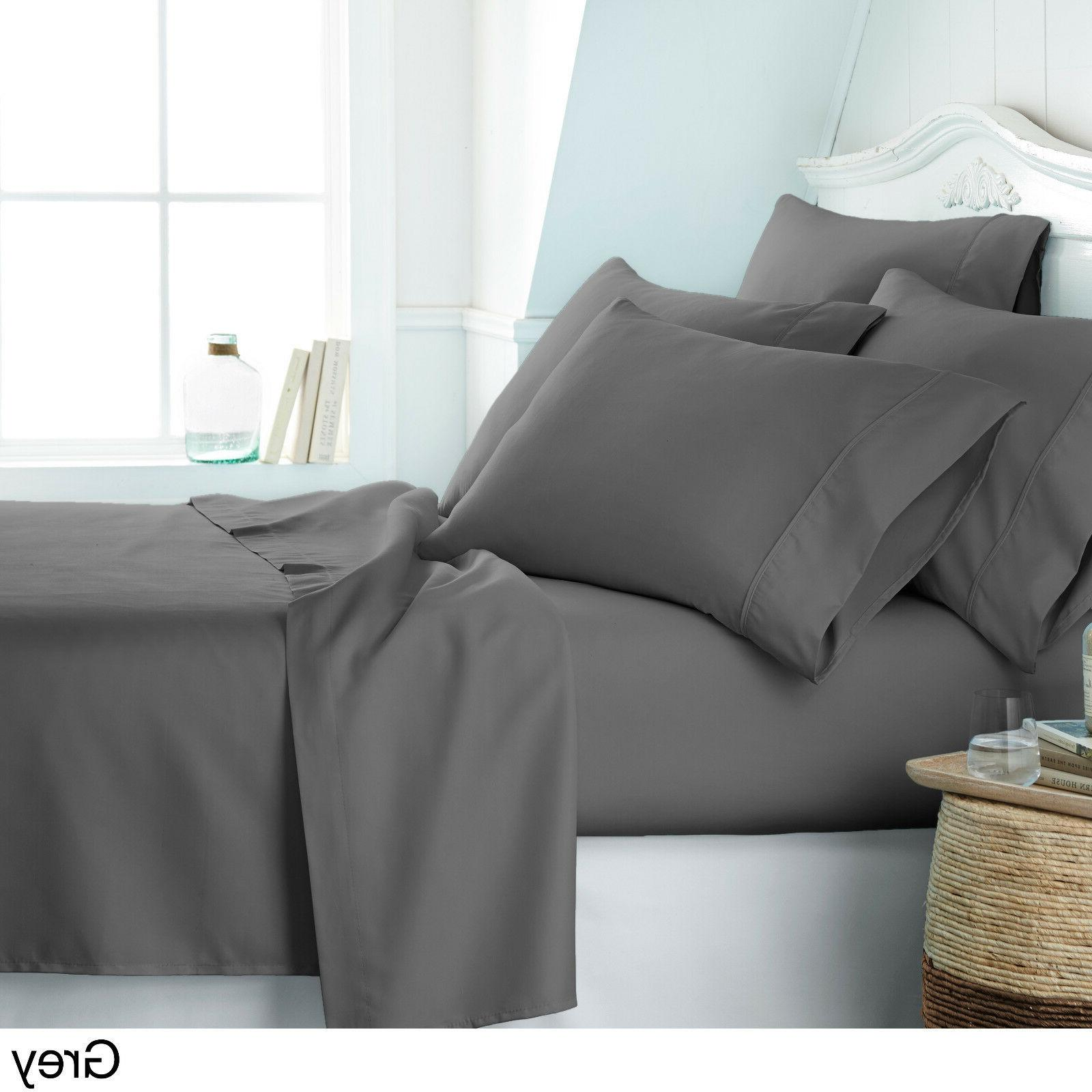 DEEP POCKET HOME COLLECTION SERIES SOFT SHEETS SET
