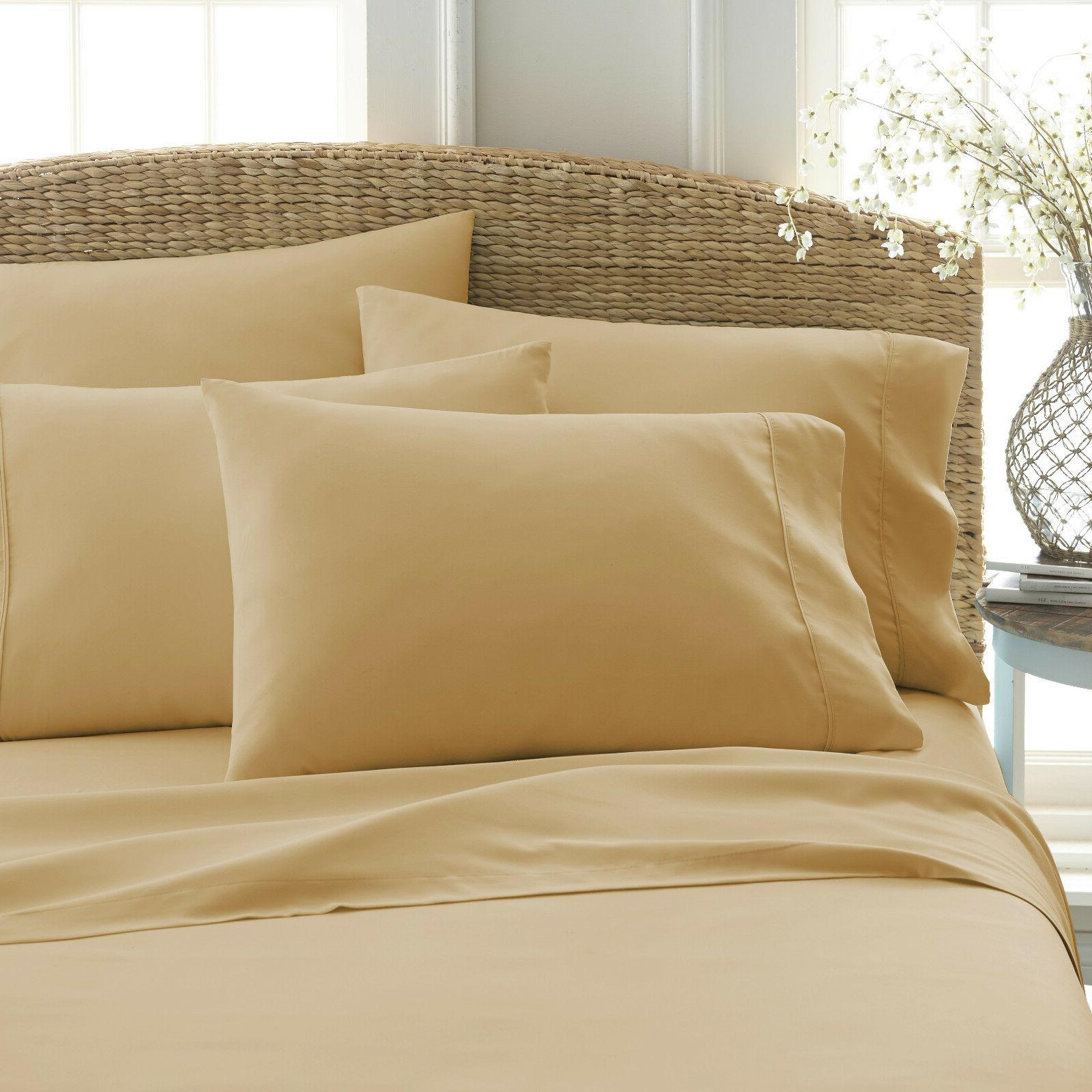 HOME COLLECTION SOFT BED SHEETS SET