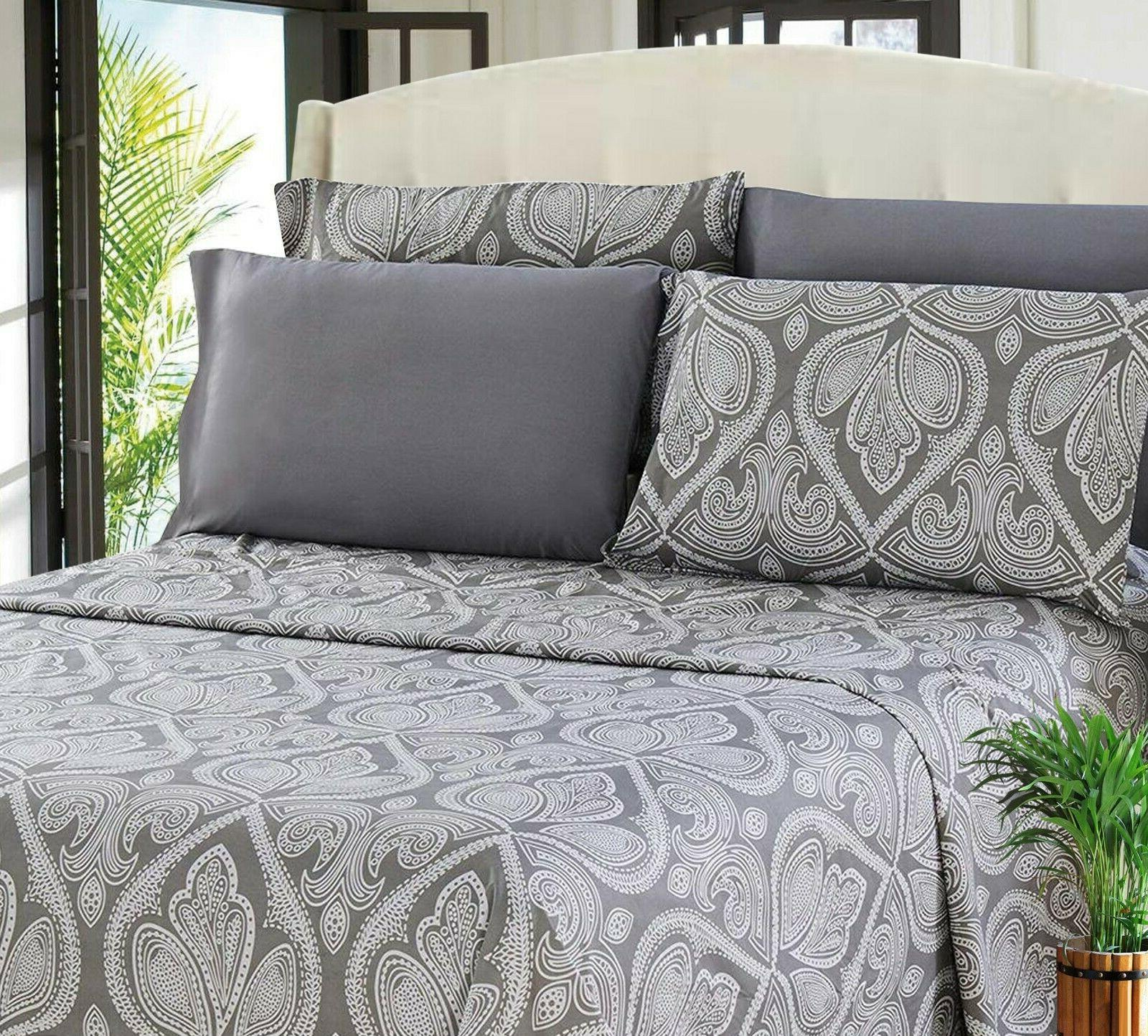 6 soft Bed Microfiber Sizes