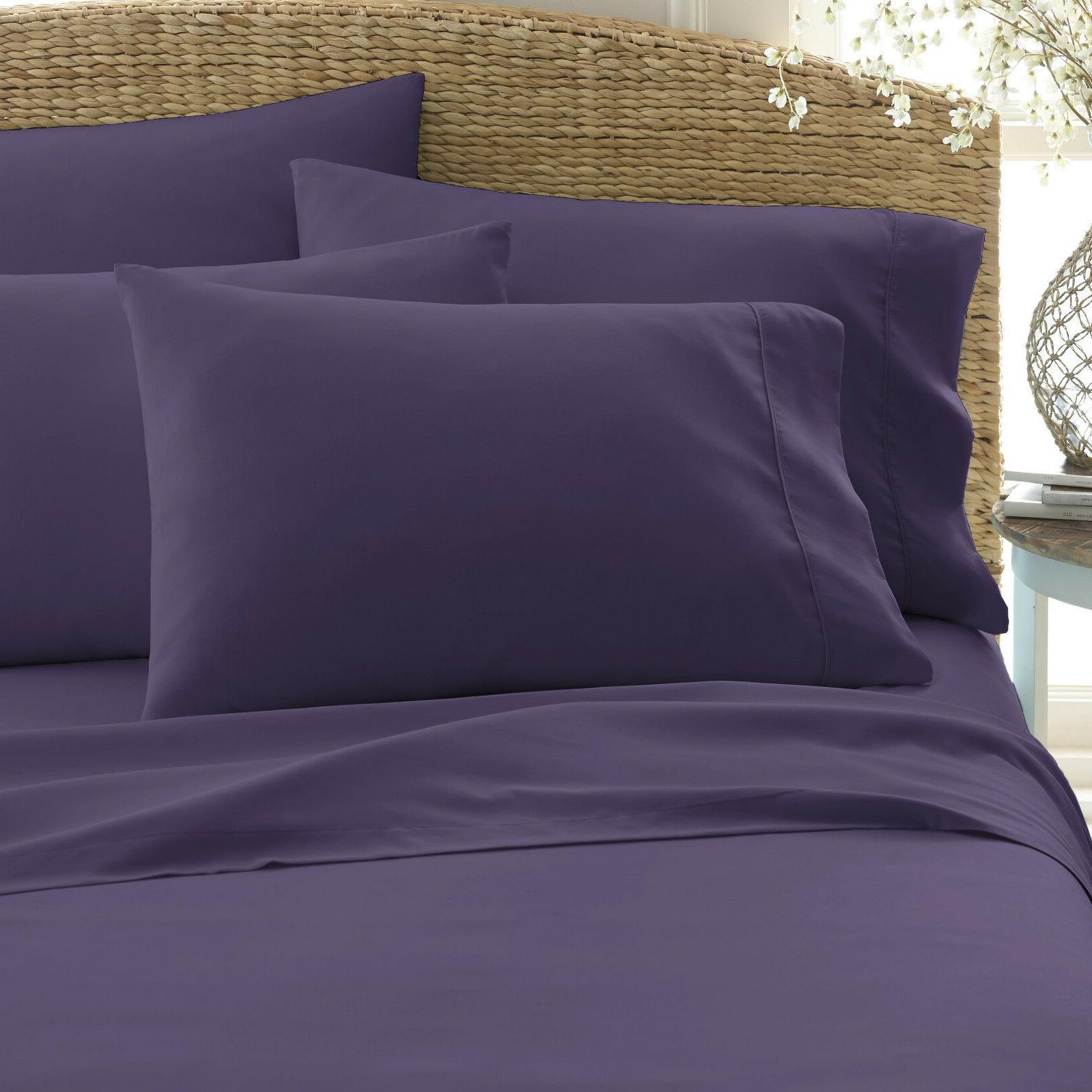 """6 PIECE HIGH 18"""" POCKET SERIES SOFT FEEL BED"""