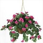 Nearly Natural 6608 Bougainvillea Hanging Basket Decorative