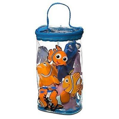 Disney Theme Park Educational Products Nemo Bath Buddies 4 P