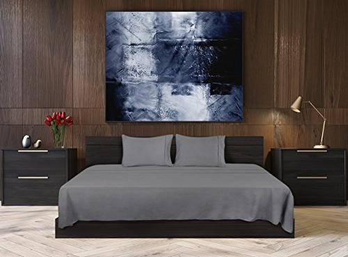 Utopia Bedding Set - Soft Microfiber Wrinkle Fade Stain Set