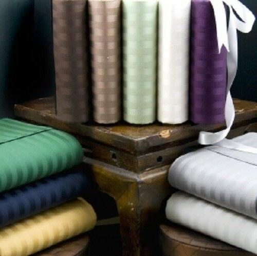 all striped colors and sizes bed sheet