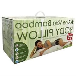 Aloe Vera Bamboo Essence Body Pillow With Cool Comfort Techn