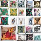 Animal Floral Tropical Plant leaves Bed Car Pillow Case Cush