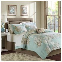 Madison Park Essentials Avalon Complete Bed And Sheet Set