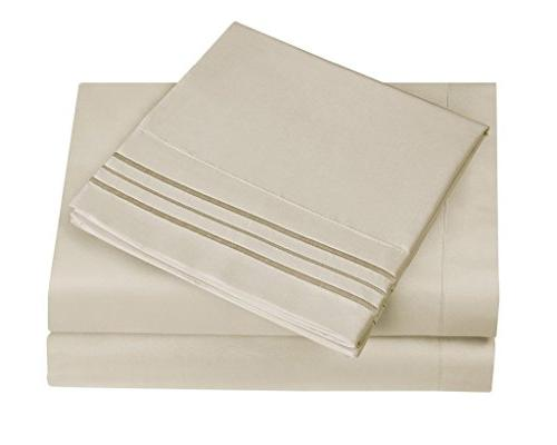 HC Bed & Set LUXURY Quality Bedding Deep Pocket, Wrinkle Resistant,Luxurious,Comfortable,Extremely