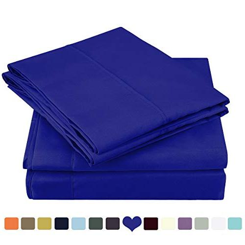 bed sheet set brushed microfiber