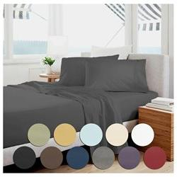 Bed Sheet Set by Becky Cameron Bedding - 18 Deep Pocket Shee