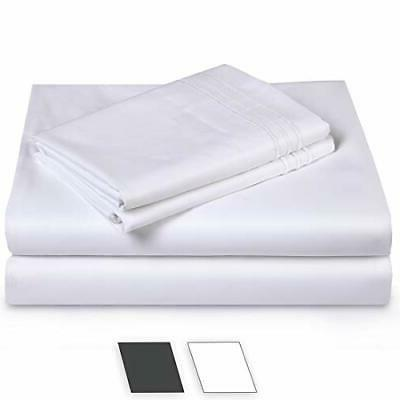 bed sheet set super soft cotton 1000