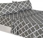 3 Piece Bed Sheets Set  1 Flat Sheet 1 Fitted Sheet and 1 Pi