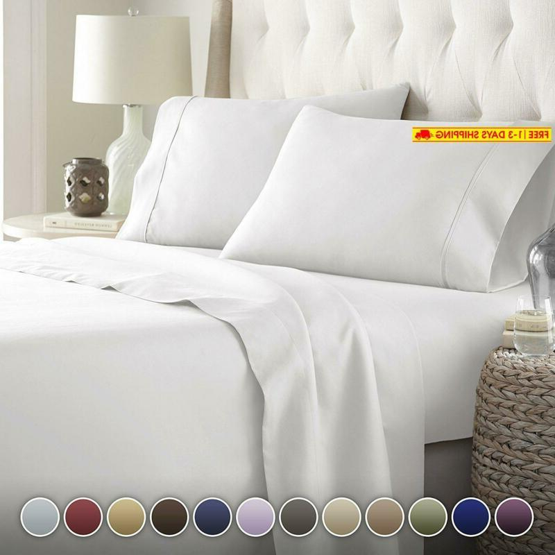 bed sheets set hotel luxury platinum collection