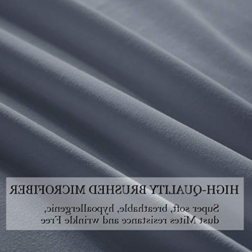 1 INCH Sheets Set, Premium Bed Sheets, Cooling Comfy Room, Guest Hotel, RV