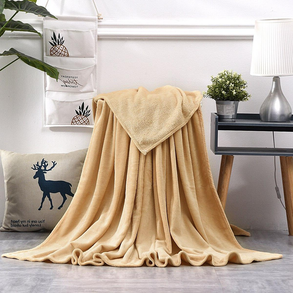 Bedspread Bedding Blanket <font><b>Soft</b></font> Comfortable Home Sofa <font><b>Bed</b></font> Throw Season Universal Blanket