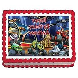 Blaze and the Monster Machines Edible Frosting Sheet Cake To