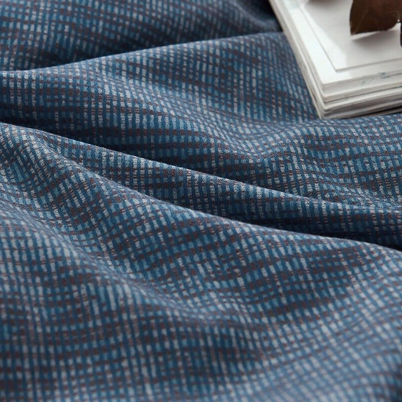 Blue Comforter Abstract Bedding <font><b>Reversible</b></font> <font><b>Bed</b></font> Cover Christmas Bedding