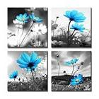Canvas Prints Pictures For Living Room Framed Of Flowers Bla
