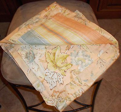 Waverly CAPE CORAL-CORAL Piece King Quilt NIP, $215.