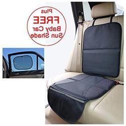Child Car Seat Protector Mat - Covers Under Child Seat - Aut