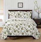 Carrie Oversized Coverlet 3 PC King Size Set Luxury Microfib
