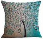 Cushion Cover Cotton Linen Throw Pillow Case For Home Sofa C
