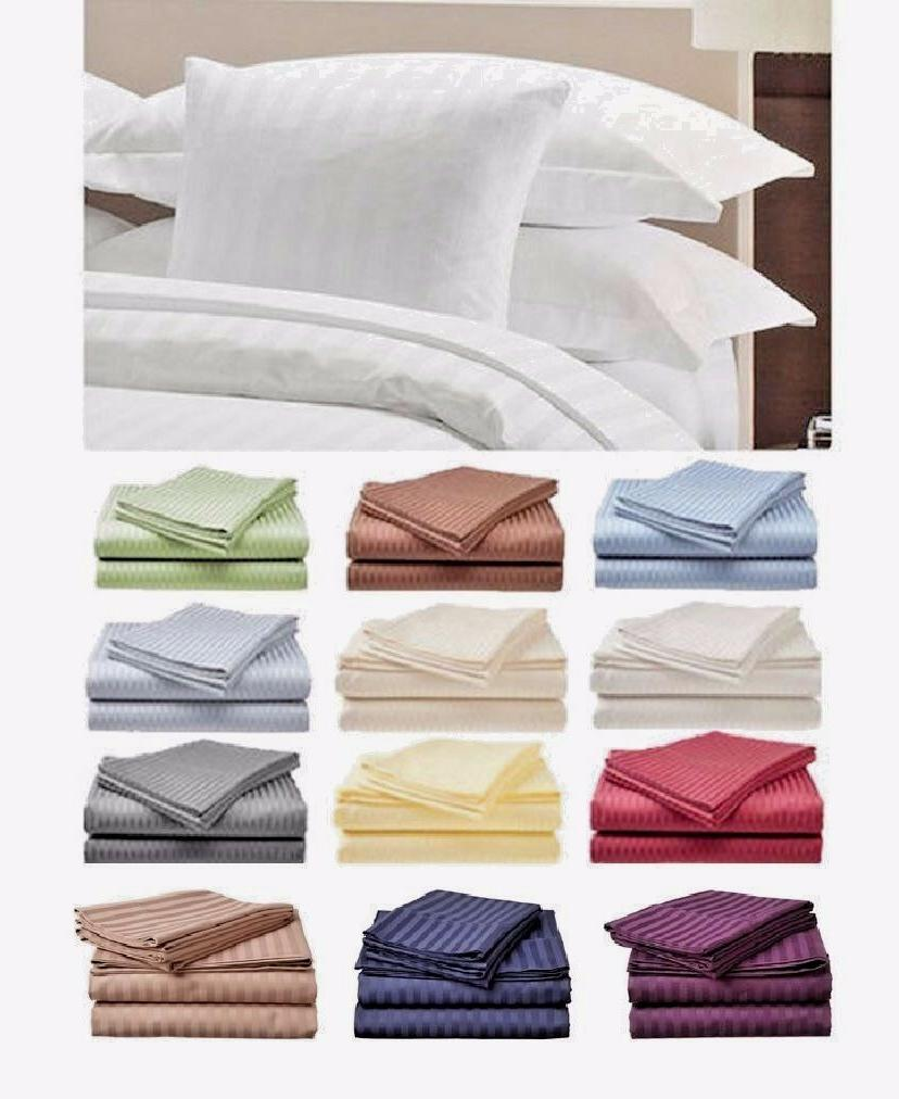 count 4 piece bed sheet set twin