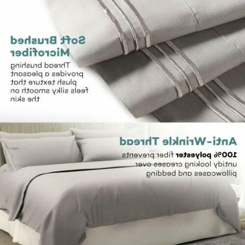 ALL SIZE DEEP PIECE SHEET SET MANY COLORS