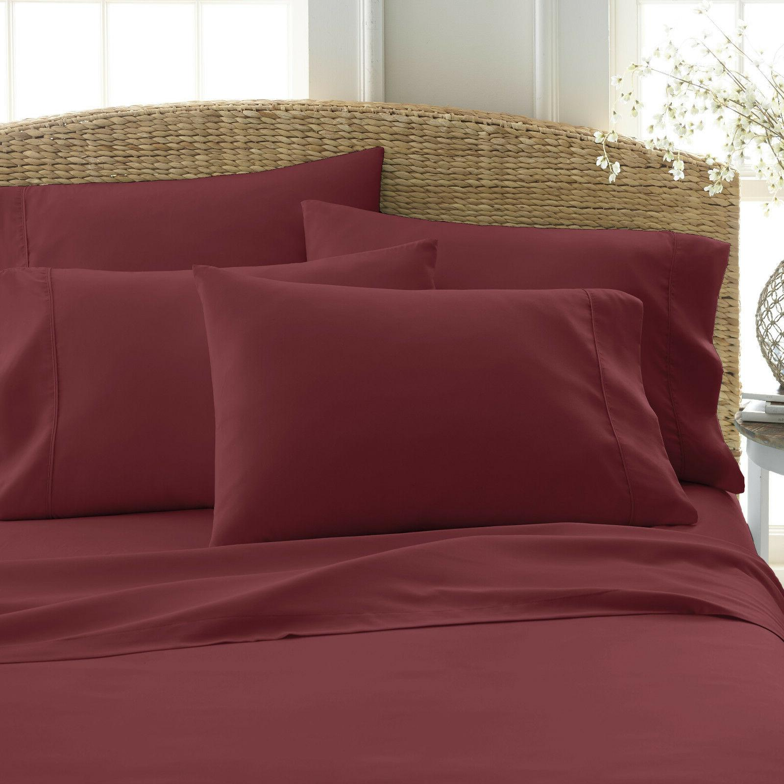 """6 PIECE QUALITY 18"""" SERIES SUPER BED SHEET"""