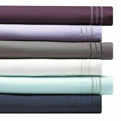 DEEP POCKET 2100 BAMBOO BED SOFT SHEET SET