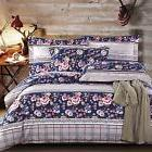 DelbouTree 3pcs Microfiber Duvet Cover Set with 4 Corner Tie