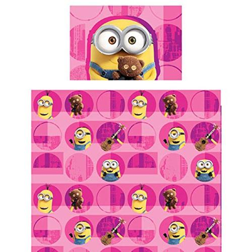 3pc DESPICABLE ME MINIONS TWIN BED SHEET SET - Buddy Hot Pin