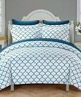 Duvet Cover Set 1800 Series Egyptian Quality 3pc Luxury Soft