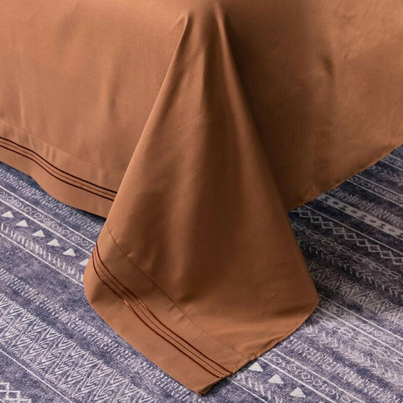 Egyptian Comfort Count 4 Set Deep Bed Sheets
