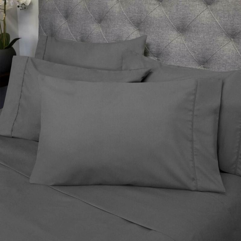 Egyptian Cotton Queen Size Bed Deep Pocket Fitted 6 Piece!