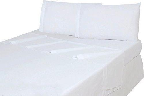 Flat Sheet Soft Brushed Microfiber Hotel Quality Comfortable