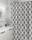 """Geometric Patterned Shower Curtain 72"""" x 72"""" - GREY"""