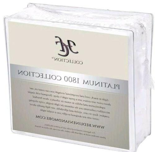 hc bed sheets set1800 series platinum collection