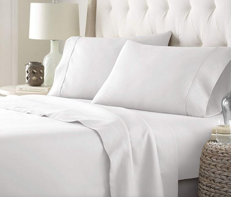 hc collection bed sheets set hotel luxury