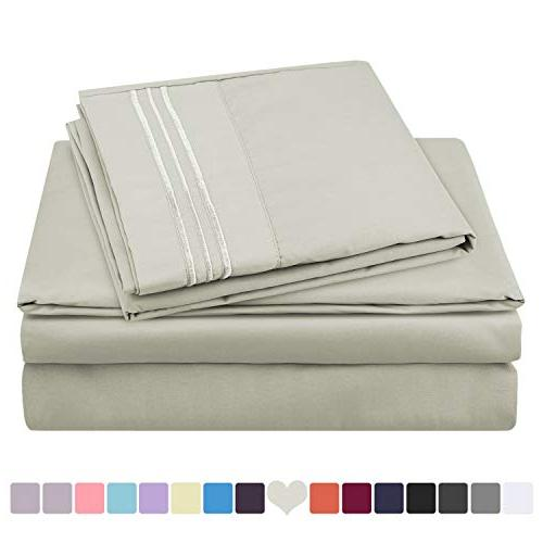 hotel luxury bed sheets set