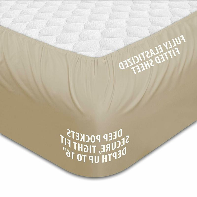 Hotel Luxury Set Collection-Deep Pocket,Wrinkle Fade Resis